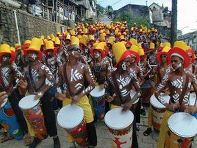Samba Reggae notation